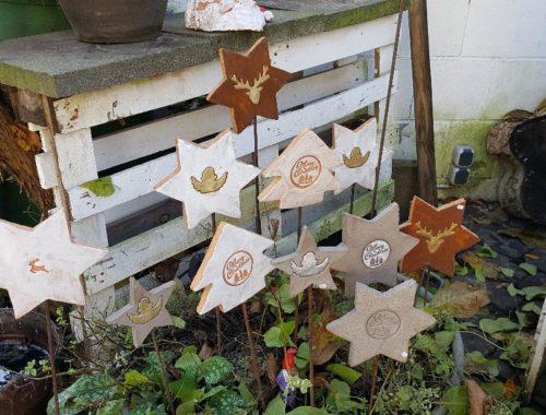 Sterne Tannenbäume und Co